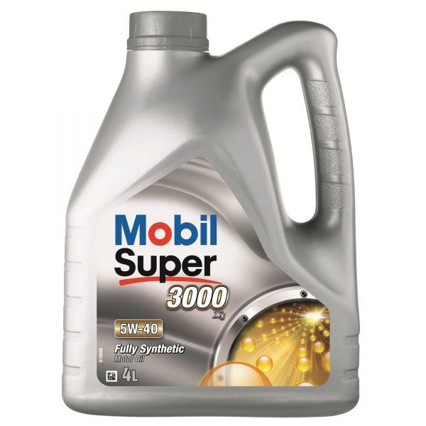 Ulei motor Mobil Super 3000 X1, 5W40, 4L