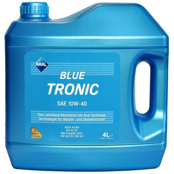 Ulei motor Aral Blue Tronic, 10W40, 4L